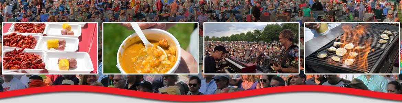 Crawfish Music Festival 2020 Michael Arnone's Crawfish Fest in Augusta, NJ.